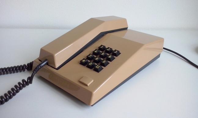 Unifoon TDK uit 1981