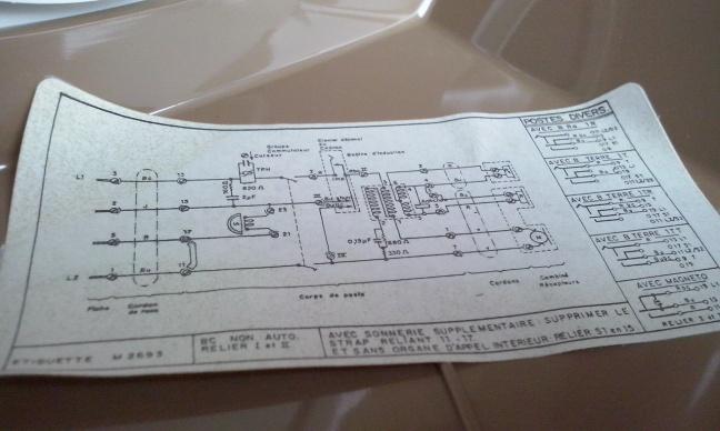 Schema van de Socotel S63