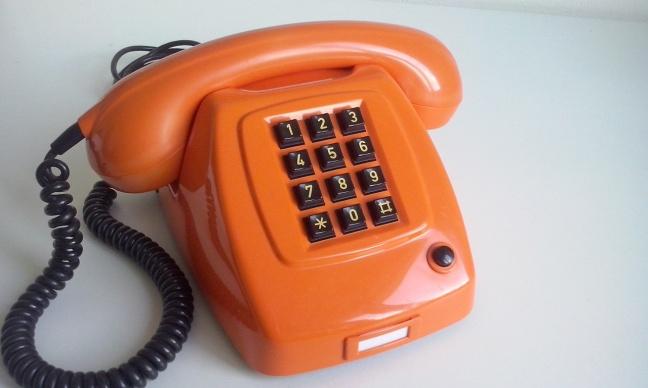 PTT T65 TDK oranje